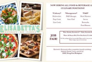 PIZZA COOKS, LINE COOKS, & DISHWASHERS – ALL RESTAURANT POSITIONS!