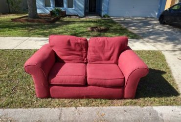 Small Red Couch (Groveland)