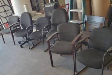 FREE OFFICE CHAIRS (CONROE, TX)