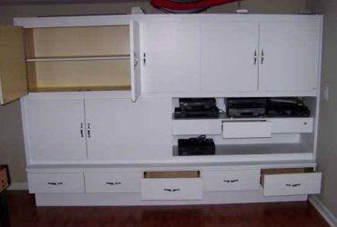 Free Large wall unit storage cabinet (Austin)