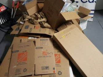 Moving Boxes and Materials