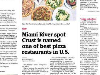 CRUST – Now hiring Servers and more… (Miami)