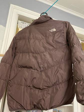 North face girl M 10-12 down jacket (Brooklyn)