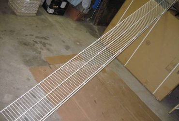 Wire Closet Shelf 10' (South Tampa)