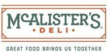 McAlister's Deli Now Hiring All Positions Plantation, FL Location (Plantation)