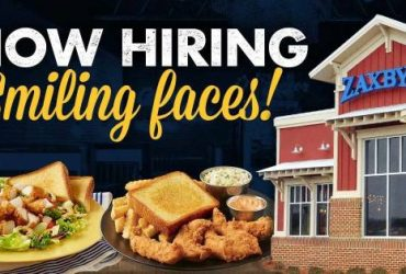 New Zaxby's Now Hiring All Positions