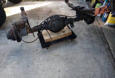 Free scrap rear end