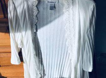 Cardigan-type shirt, Size L (Palm Harbor)