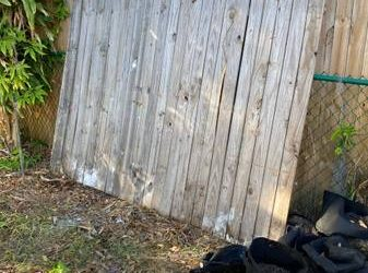 Fence panel 8' (Casselberry)
