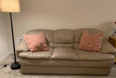 Leather sofa and Love seat (Spring TX)