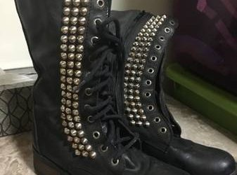 Steve Madden leather boots (Bushwick, Bk.)