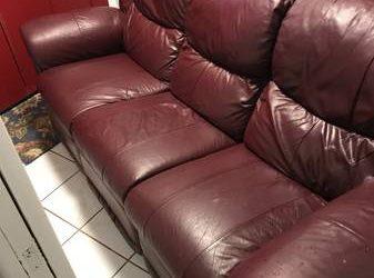 Leather Sofa (Maitland)