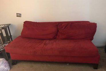 Armless sofa, nightstand (Tampa)