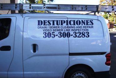 HIALEAH  DESTUPICIONES, DRAIN CLEANING,   305 300 3283