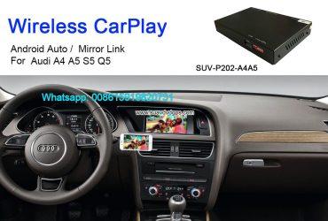 Audi A4 A5 S5 Q5 Wireless Apple CarPlay Box Original Screen Update