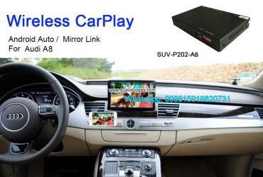 Audi A8 Wireless Apple CarPlay Box Original Screen Update