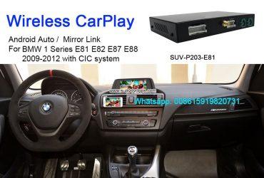 BMW E87 E88 E81 E82 Wireless Apple CarPlay Box Original Screen Update