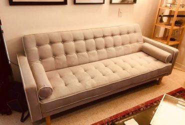 Free $000 sleeper mid century sofa (Saint Petersburg fl)