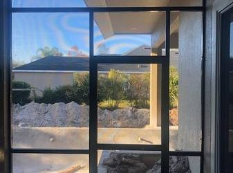 Patio screen panel, brown (Oviedo)