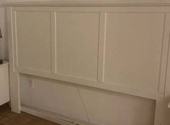 White King Headboard