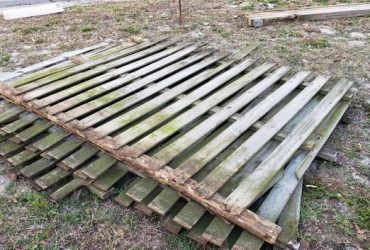 ►►Used Fence Panels – STILL THERE – Curlew City (Clearwater)