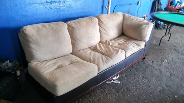 Couch and love seat (Pompano Beach)