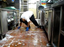 Exhaust cleaning for restaurants