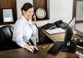 RECEPCIONISTA Y OPERADORA DE TELEFONOS (HOUSTON)