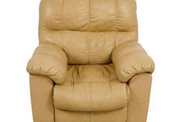 Tan recliner