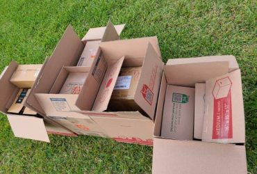 """Cardboard boxes Free """"Not Flattened"""" SAVE YOUR TAPE (Miami)"""