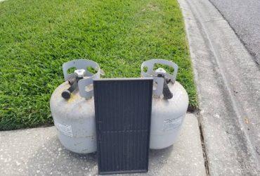 Free Propane Tanks – one full, one empty (Winter Springs)