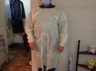 PPE GOWNS for HOME HEALTH AIDES (East Village)