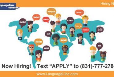 "BILINGUAL ENGLISH/SPANISH INTERPRETERS!!! ((TEXT ""APPLY"" TO 831-777-2784))"