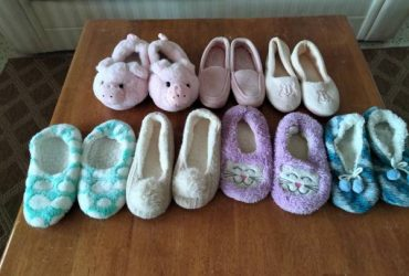 Previously worn slippers size 7/8 (West Palm Beach)