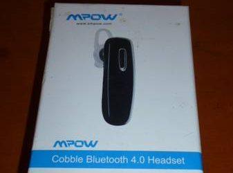 MPOW Cobble Bluetooth 4.0 Headset earpiece (East Village)