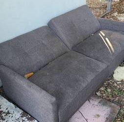 Sofa bed (The Roads Miami)