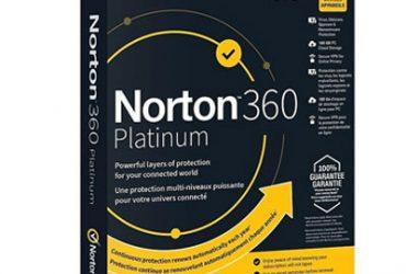 Norton 360 Platinum (1 Year/ 20 Devices) – KeyBest2Buy