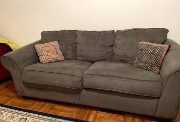 Gray sofa (Forest Hills)