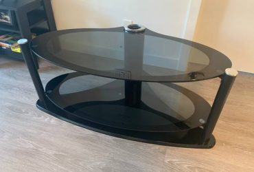 *FREE*Glass TV Stand.