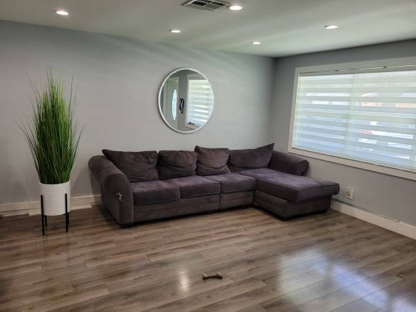 Gray Sectional (Cooper City)