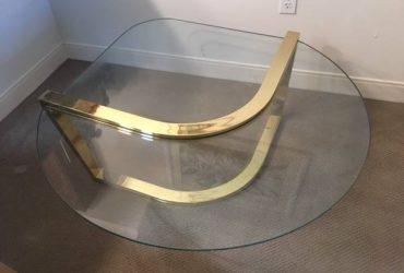 Glass coffee table modern (Lake Worth)