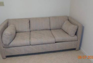 Sleeper sofa (Atlantic/Jog in Delray)